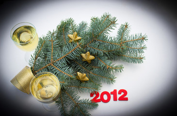 Happy New Year 2012 - happy holidays