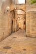 Old street in Jerusalem, Israel.