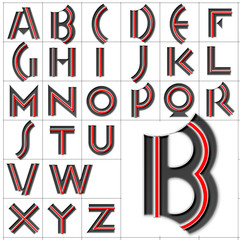 abc alphabet background monkey business design