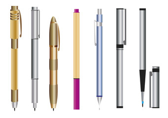 Conjunto de canetas
