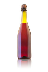 Red lambrusco bottle
