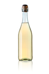 White lambrusco bottle