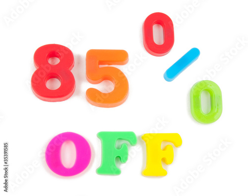 85% written in fridge magnets