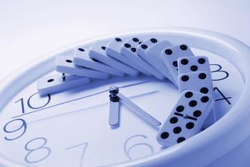 Dominoes on Clock