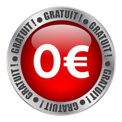 """Tampon Publicitaire """"GRATUIT !"""" (marketing soldes prix)"""