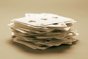 Stack of Playing Card