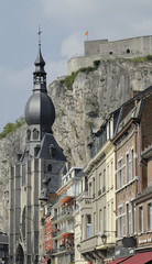 notre dame and citadelle, dinant