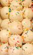 Scoops of Vanilla Ice Cream with Sprinkles