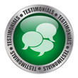 TESTIMONIALS Web Button (satisfaction thumbs up recommend)