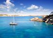 Cala Fornells Majorca in Mediterranean Mallorca Island
