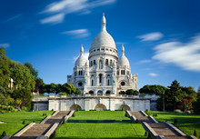 Bazylika Sacre Coeur Montmartre Paris France