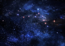 "Постер, картина, фотообои ""Deep space nebulae"""