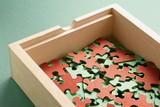 Box of Jigsaw Puzzles