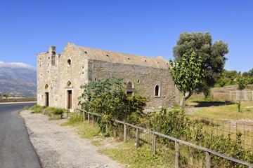 Old church of Agios Georgios near Phaistos