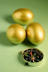 Golden Eggs and Compass