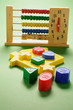 Toy Abacus and Shape Blocks