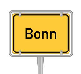 Bonn Ortsschild