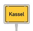 Kassel, Ortsschild