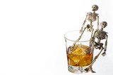 Alcoholism problem poster