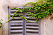 Majorca traditional wood windows mallorquina shutters