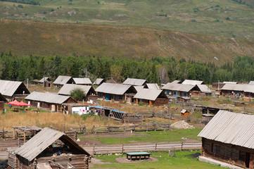 新疆禾木的房屋