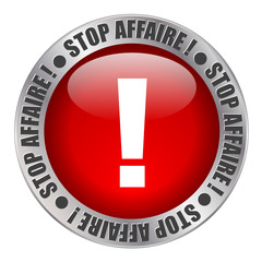 """Bouton Web """"STOP AFFAIRE"""" (soldes premier prix publicité tampon)"""