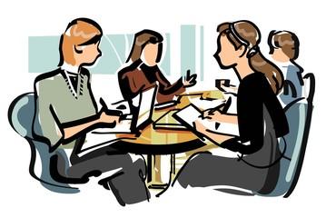 女性の会議