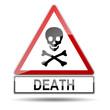 Señal peligro DEATH