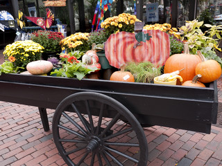 Quincey Market in City of Boston, Massachusetts USA
