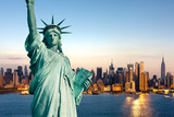 New York statue de la Liberté - Fine Art prints