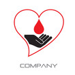 Logo Blood Donation # Vector