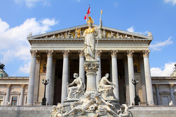 Austria - parliament building in Vienna