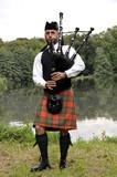 Fototapety Highland Games Machern 2011 - Dudelsackspieler