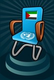 palestine candidate for the seat on united nation poster