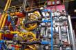 Intérieur d'une chaudière à gaz