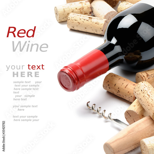 Wine and corks - 35421782