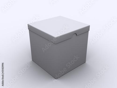 karton mit deckel von topae lizenzfreies foto 35421996. Black Bedroom Furniture Sets. Home Design Ideas