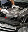 Cleaning of car engine