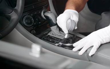 Car interior cleaning 1