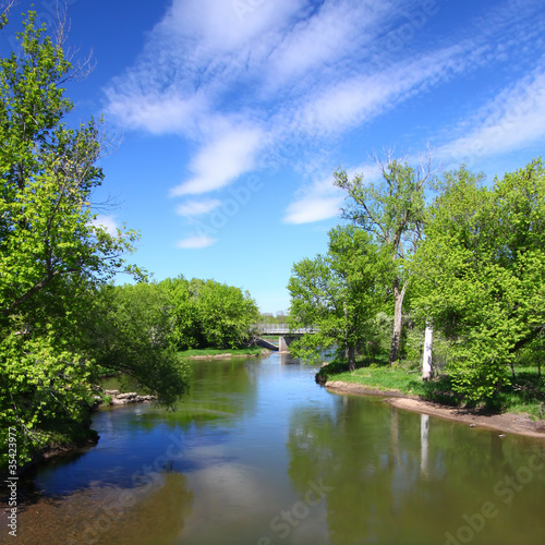 Kishwaukee River in Illinois