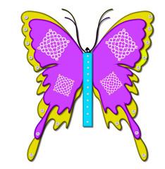 Alpha Bling Butterfly I