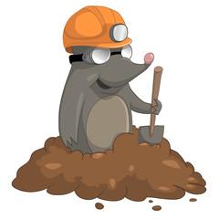 Cartoon Character Mole