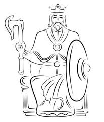 Векторный король