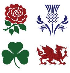 United Kingdom national emblems