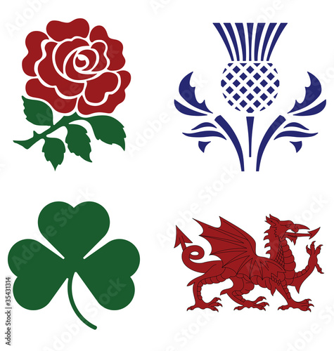 United Kingdom national emblems