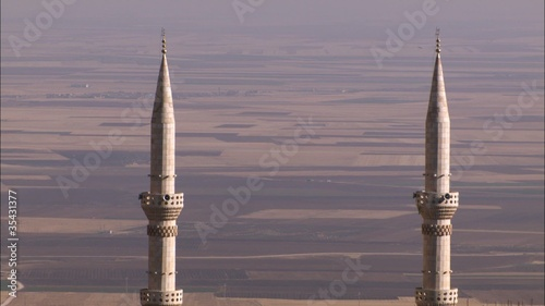 WS of two mosques in the town of Mardin (Turkey).