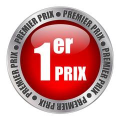 """Bouton Web """"PREMIER PRIX"""" (soldes promotions publicité tampon)"""
