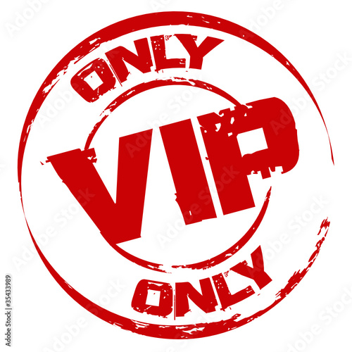 Stempel: Only VIP * Ladies Night * Members Only