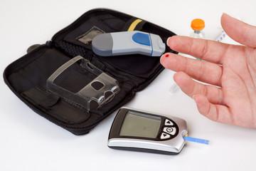 Test de azúcar en sangre