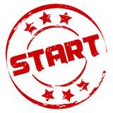 Stempel: Start poster